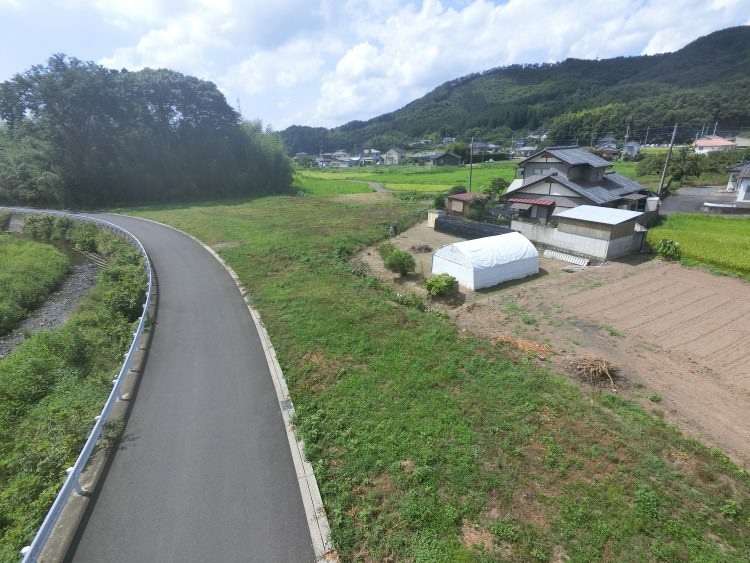 土地の空撮写真2