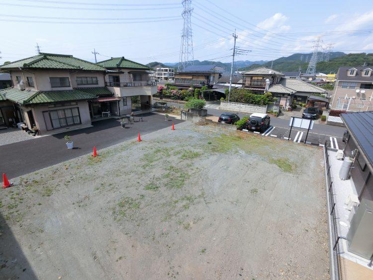 土地の空撮写真